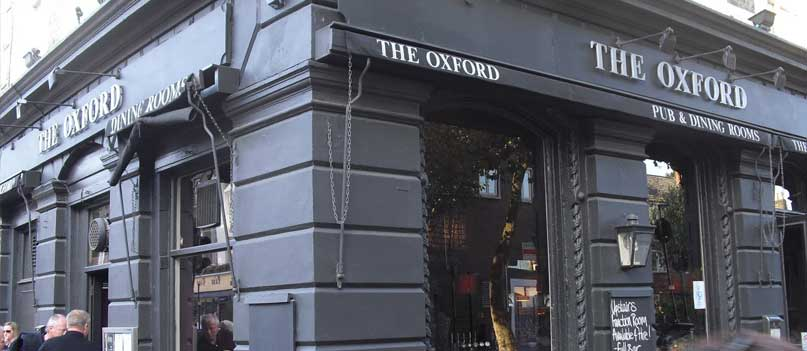Camden comedy at the Oxford Tavern