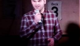 Alexander Ulyet at Monkey Business Comedy Club