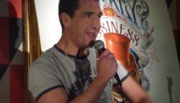 Darren Altman at Monkey Business Comedy Club