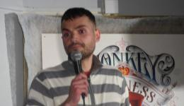 JAMES JARVIS  at Monkey Business Comedy Club