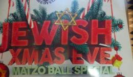 JEWISH XMAS EVE
