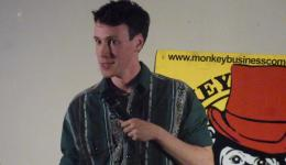 Jamie Oliphant at Monkey Business Comedy Club