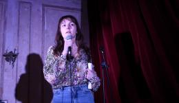 Jessica Aszkenasy  at Monkey Business Comedy Club