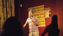 SIMON BRODKIN aka Lee Nelson at Putney Comedy Club