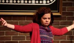 Natasha Anderson at Monkey Business Comedy Club