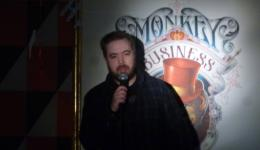 Nick Dixon at Monkey Business Comedy Club