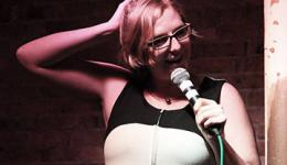 Robyn Perkins at Monkey Business Comedy Club